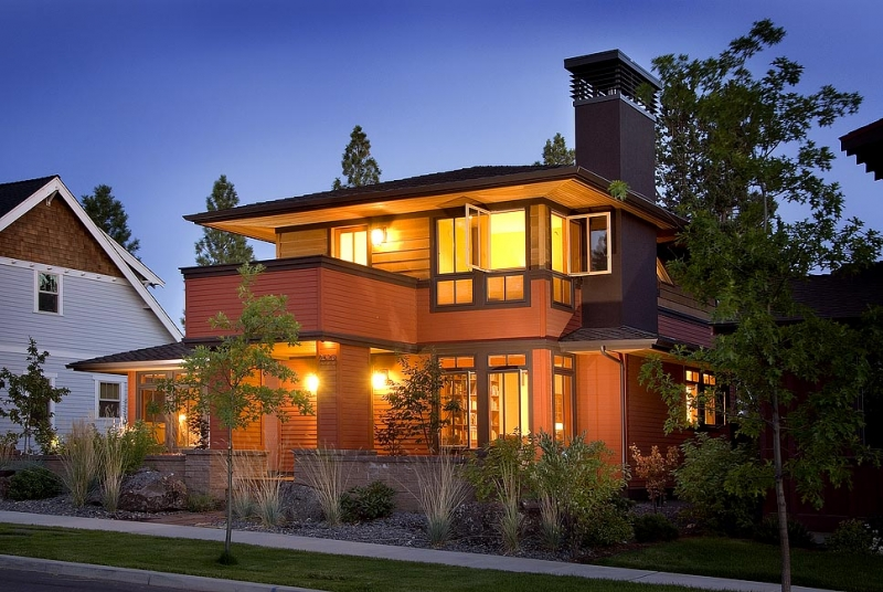 Photos of dennis staines home construction photo gallery for Bend oregon contractors